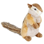Lifelike Standing Chipmunk Stuffed Animal by Hansa