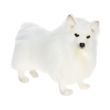 Lifelike German Spitz Stuffed Animal by Hansa