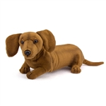 Handcrafted 16 Inch Lifelike Stuffed Dachshund Puppy by Hansa