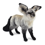Handcrafted 14 Inch Lifelike Bat-eared Fox Stuffed Animal by Hansa