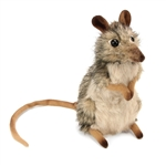 Lifelike Elephant Shrew Stuffed Animal by Hansa