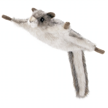 Handcrafted 8 Inch Lifelike Flying Squirrel Stuffed Animal by Hansa