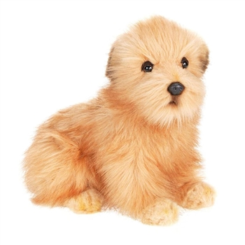 Lifelike Norfolk Terrier Puppy Stuffed Animal by Hansa