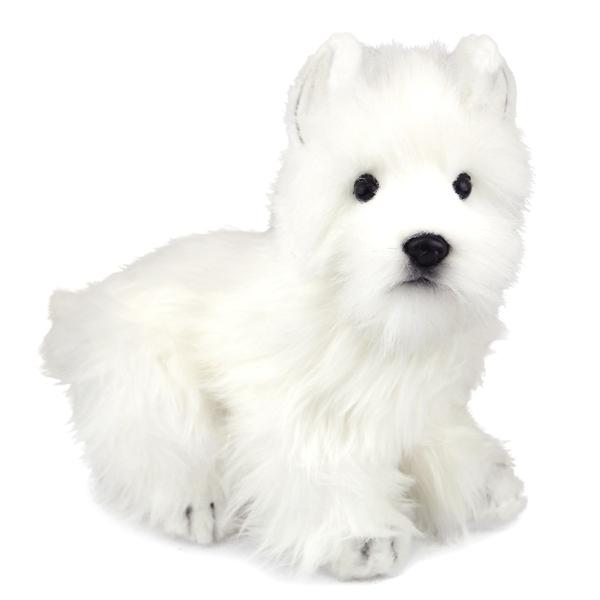 Handcrafted 9 Inch Lifelike Westie Stuffed Animal By Hansa At