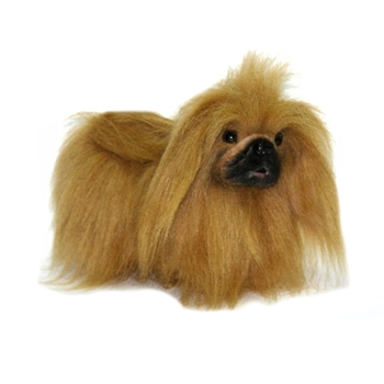 Lifelike Toy Pekingese Stuffed Animal by Hansa