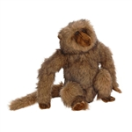 Lifelike Sitting Baboon Stuffed Animal by Hansa