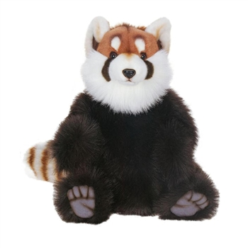 Lifelike Red Panda Stuffed Animal by Hansa