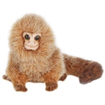 Lifelike Pygmy Marmoset Stuffed Animal by Hansa
