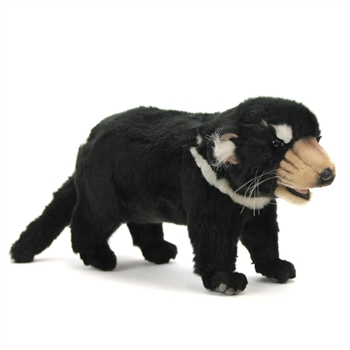 Lifelike Baby Tasmanian Devil Stuffed Animal by Hansa
