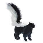 Handcrafted 14 Inch Lifelike Baby Skunk Stuffed Animal by Hansa