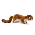 Lifelike Red Squirrel Stuffed Animal by Hansa