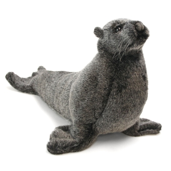 Lifelike Sea Lion Pup Stuffed Animal by Hansa