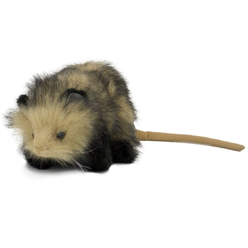 Handcrafted 10 Inch Lifelike Opossum Stuffed Animal by Hansa