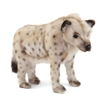 Handcrafted 14 Inch Lifelike Hyena Stuffed Animal by Hansa
