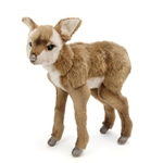 Lifelike Bushbuck Kid Stuffed Animal by Hansa