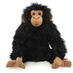 Handcrafted 9 Inch Lifelike Young Chimp Stuffed Animal by Hansa