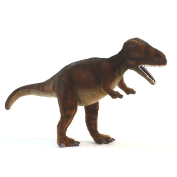 Handcrafted 26 Inch Lifelike T-Rex Stuffed Animal by Hansa