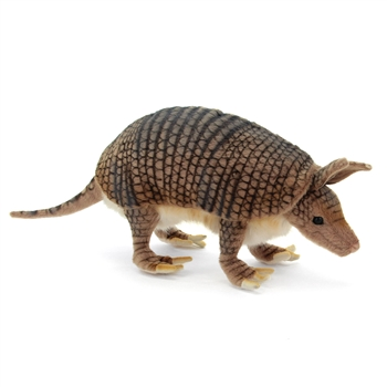 Handcrafted 10 Inch Lifelike Armadillo Stuffed Animal by Hansa