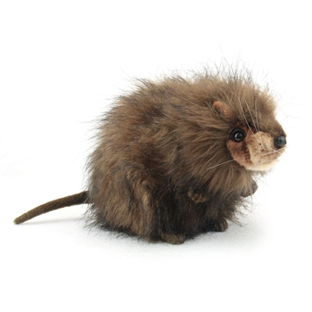 Handcrafted 9 Inch Lifelike Muskrat Stuffed Animal by Hansa