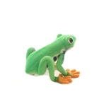 Lifelike Red Eyed Tree Frog Stuffed Animal by Hansa