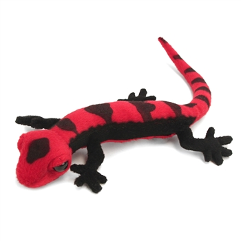 Lifelike Orange Salamander Stuffed Animal by Hansa