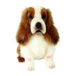 Lifelike Cocker Spaniel Puppy Stuffed Animal by Hansa