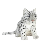 Lifelike Snow Leopard Stuffed Animal by Hansa