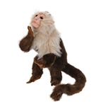 Lifelike Capuchin Monkey Stuffed Animal by Hansa