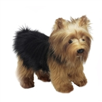 Lifelike Yorkshire Terrier Puppy Stuffed Animal by Hansa