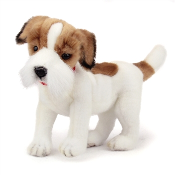 Handcrafted 12 Inch Lifelike Stuffed Jack Russell Terrier by Hansa