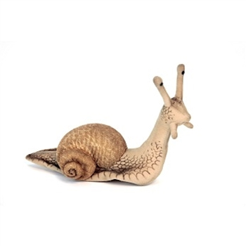 Handcrafted 9 Inch Lifelike Snail Stuffed Animal by Hansa