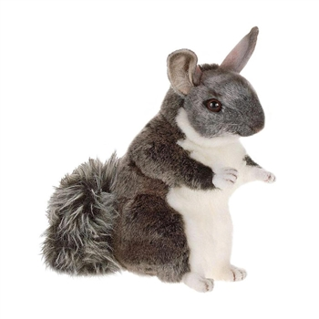 Lifelike Chinchilla Stuffed Animal by Hansa