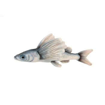 Handcrafted 10 Inch Lifelike Flying Fish Stuffed Animal by Hansa