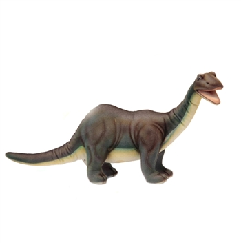 Lifelike Brontosaurus Stuffed Animal by Hansa