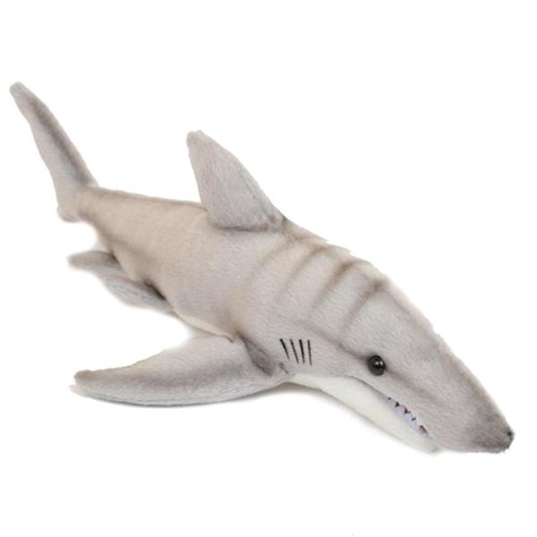 Lifelike Tiger Shark Stuffed Animal Hansa Stuffed Safari