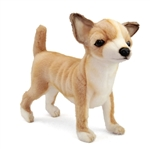 Handcrafted 11 Inch Lifelike Stuffed Chihuahua Puppy by Hansa