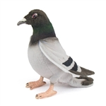 Handcrafted 11 Inch Lifelike Pigeon Stuffed Animal by Hansa