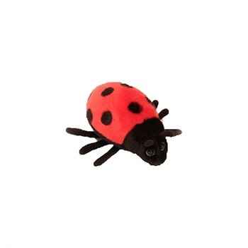 Handcrafted 6 Inch Lifelike Ladybug Stuffed Animal by Hansa