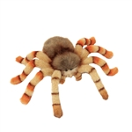 Lifelike Jumping Spider Stuffed Animal by Hansa