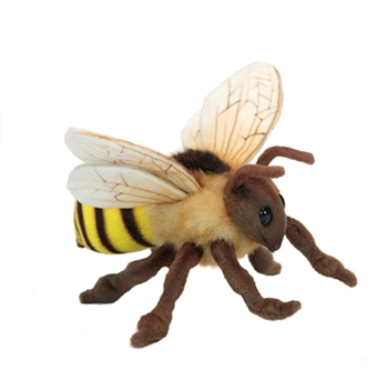 Lifelike Honey Bee Stuffed Animal by Hansa