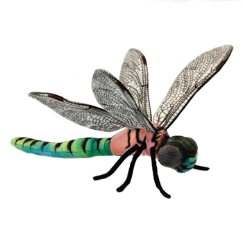 Lifelike Dragonfly Stuffed Animal by Hansa