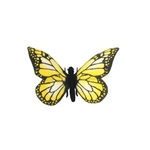 Lifelike Yellow Butterfly Stuffed Animal by Hansa