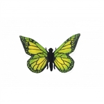 Lifelike Green Butterfly Stuffed Animal by Hansa