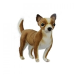 Handcrafted 9 Inch Lifelike Chihuahua Stuffed Animal by Hansa