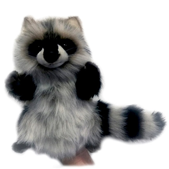 Handcrafted 19 Inch Lifelike Full Body Raccoon Puppet by Hansa