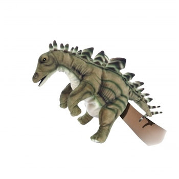 Handcrafted 15 Inch Lifelike Full Body Stegosaurus Puppet by Hansa