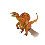Handcrafted 16 Inch Lifelike Full Body Orange Spinosaurus Puppet by Hansa
