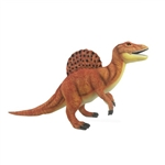 Handcrafted 27 Inch Lifelike Orange Spinosaurus Stuffed Animal by Hansa