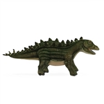 Handcrafted 23 Inch Lifelike Stegosaurus Stuffed Animal by Hansa