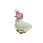 Handcrafted 8 Inch Lifelike Gooseling Stuffed Animal by Hansa